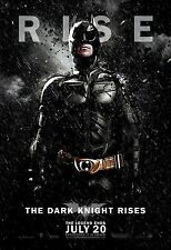 Batman The Dark Knight Rises (2012) Movie Poster (24x36) - Christian Bale NEW
