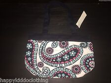 New Gap paisley  blue bag purse tote girls