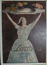 * LA LETTURA N°7 del 1° LUG.1922 - RIVISTA MENSILE DEL CORRIERE DELLA SERA *