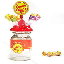 Dollhouse Miniature Lollipop Sweet Candy Chupa chups Bottle 1:12 Accessories
