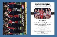Final Five NEW! ACEO Sports Card 2016 Rio Olympics Team Gymnastics Gold