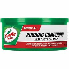 Turtle Wax Rubbing Compound Heavy Duty Cleaner Car Truck Tin Collect - 10.5 oz.