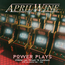 APRIL WINE - Power Plays (From Las Vegas To Kansas) Live On Radio.. 2CD - 732055