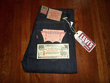 NEW $225 LEVI'S 505-0217 LVC 1967 REDLINE SELVEDGE SANFORIZED BIG E JEANS 32x34