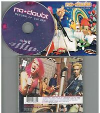 No Doubt ‎– Return Of Saturn CD 2000