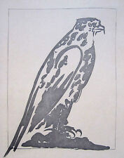 "PABLO PICASSO Original 1941-42 Aquatint and Etching - ""L'Epervier"""