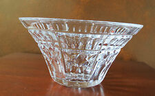 Waterford Ireland Crystal Welcome Bowl Signed