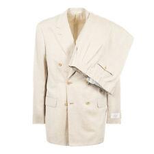 BELVEST Silk Linen Suit 42Us / 52Eu Ivory