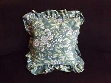 """Laura Ashley Bramble Berry Square Decorative Toss Throw Bed Pillow 12"""" x 12"""""""