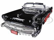 1957 BUICK ROADMASTER RED/BLACK CUSTOM 1/18 DIECAST MODEL CAR BY MOTORMAX 79008