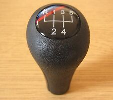 Gear Shift Knob 5 Speed Leather Imitation BMW M E34 E36 E39 E46 E30 X5 E87