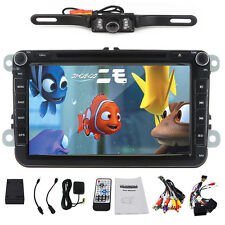 "8""Monitor Car Radio DVD Player GPS Navigator for VW Golf 5 V 6 VI MK5 PLUS+Cam"