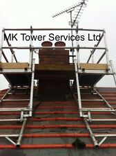 CHIMNEY SCAFFOLD ACCESS TOWER SYSTEM...ALUMINIUM INDUSTRIAL, HALF SET PLUS