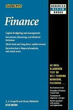 Barron's Business Review Ser.: Finance by A.A. Groppelli and Ehsan Nikbakht (20…
