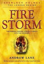 Fire Storm (Sherlock Holmes: the Legend Begins)-ExLibrary