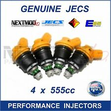 4 Genuine 555cc JECS for Subaru Side Feed Fuel Injectors 16600-AA170 Sti WRX GC8