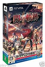 Used PS Vita The Legend of hiroes Sen no Kiseki 2 Limited Edition Japan Import
