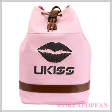 U-KISS KISS ME KPOP UKISS CANVAS BAG PINK BACKPACK NEW