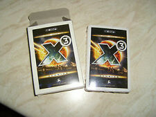 X3 Reunion gaming promo playing cards. 52 CARD DECK, SEALED NEW in Box