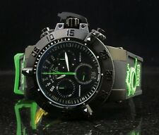 Invicta Men Subaqua Noma III Dragon Quartz Chrono Black Strap Retrograde Watch