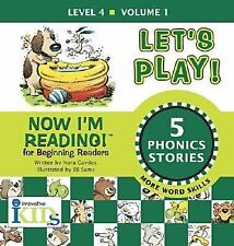 Now I'm Reading!: Let's Play! - Volume 1: Level 4 (Now I'm Reading!: L-ExLibrary