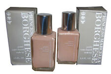 2 bottles MARCELLA BORGHESE WATER BASED FOUNDATION MAKE UP ROMAN  ROSE BEIGE