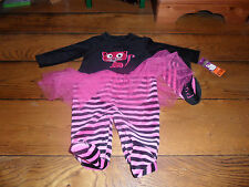 BABY GIRLS BLACK CAT TUTU AGE 3/6 MONTHS  HALOWEEN - BRAND NEW WITH TAGS!