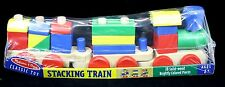 Melissa And Doug Classic 18 Piece Toy Stacking Train NIP