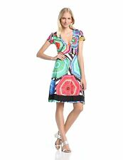 Authentic Desigual Women's Melissa A-Line 41V2178 Dress Size M - UK 12 - EU 40