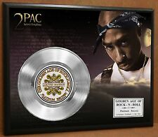 2 Pac / Tupac LTD Edition Poster Art Platinum Record Music Memorabilia Display