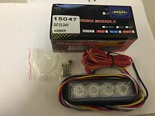 Gwaza DC12-24V LED 4 Module Amber Warning Lamp 15047
