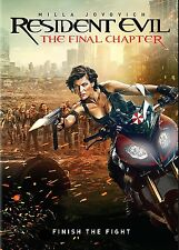 Resident Evil: The Final Chapter (DVD, 2017) PREORDER-Release Date 5/16
