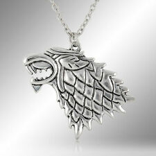 A Game of Thrones Inspired House Stark Direwolf Necklace UK BASED FREE P&P