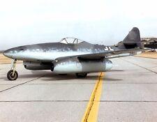 New 8x11 World War II Photo: German Messerschmitt ME 262-A, First Fighter Jet
