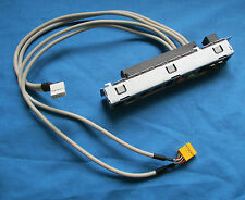 HP 5003-0673 A6000 USB/Audio Panel with Motherboard Cable Connector