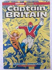 Marvel CAPTAIN BRITAN Comic Book 1988 - 2nd Printing - Very Good Condition