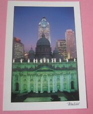 Mary Queen of the World Cathedral Montreal - Cathedrale Marie-Riene Postcard New