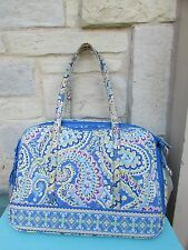 Vera Bradley CAPRI BLUE Pet Carrier Porter Dog Cat Purse Tote Travel Luggage