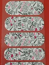 Jamberry Half Sheet - Love Letters - Retired