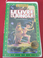 Rare VHS French Movie Le Livre de la Jungle ! The Jungle Book