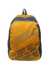American Tourister Yellow Back Padded Backpack With Laptop Sleeve
