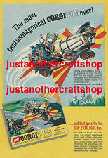 Corgi Toys 266 Chitty Chitty Bang Bang Large Poster Advert Sign Leaflet 1968