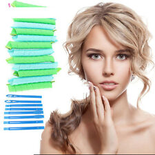 18PCS/Set 55cm Curl DIY Hair Curlers Tool Styling Spiral Circle Magic Rollers