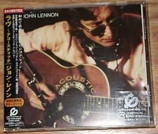 John Lennon - Acoustic [CD] Japanese Import. w/OBI. Great Shape!
