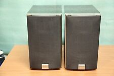 KENWOOD LS-M31 2 Way 2 Wooden Bookshelf stereo speakers, 20W 6.0ohm