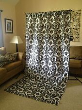 Damask Photography Backdrop 5Wx9H Display Panel Drape Display Photo Shoot