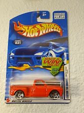 2002 HOT WHEELS FIRST EDITIONS #31 CUSTOM '69 CHEVY No. 19 / 42  MALAYSIA BASE