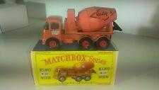 Matchbox King Size No. K-13a ERF Ready Mix Concrete Truck 1963 mit Repro Box