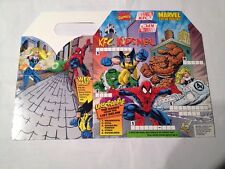 marvel Kfc Kids Meal Box 1997 , spiderman,wolverine,hulk,storm,thing