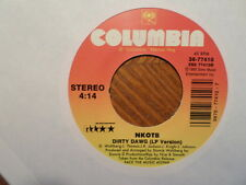 """COLUMBIA 7"""" 45 RECORD/NEW KIDS ON THE BLOCK/NEVER LET YOU GO/DIRTY DAWG/NR MINT"""